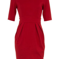 Petite red pencil dress - Sale &amp; Offers - Dorothy Perkins