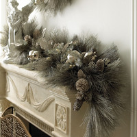 """French"" Christmas Garland - Horchow"