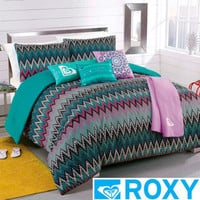 Roxy Tribal Dash 5-piece Comforter Set with Body Pillow and Throw | Overstock.com