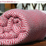 ON SALE Turkish Towel  Bamboo Peshtemal Diamond by PESHTEMAL