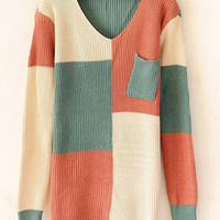 @Free Shipping@ Women Knitting Beige Sweater One Size VG3027be from Voguegirlgo