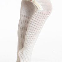 Betsy Buttons Over the Knee Socks - $20.00 : ThreadSence.com, Your Spot For Indie Clothing & Indie Urban Culture