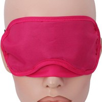 5 X Outdoor Travel Sleep Rest Eye Mask Shades Blindfold Peachpuff