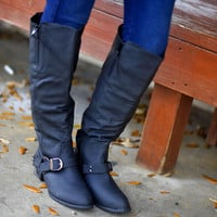 Finders Keepers Riding Boots- Black | Hope's