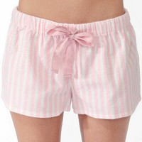 Vertical Stripe PJ Shorts | FOREVER 21 - 2030187080