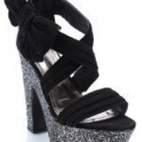 Society86 Cornelia-01 Bow Pleated Sandal