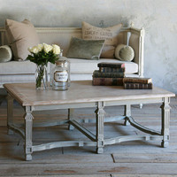 Eloquence Medici Coffee Table Gustavian Grey