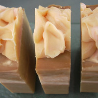 Pumpkin Vegan Soap Luxury Cold Process by 2bloomsdesignstudio