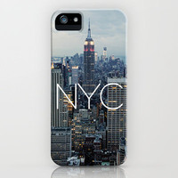 NYC iPhone Case by Tumblr Fashion | Society6