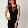 Free People Sweetheart with Lace Slip in Black at Free People Clothing Boutique