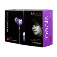 Justin Bieber Beats by Dre Earbuds (Limited Edition) - MSRP $120
