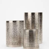 UrbanOutfitters.com > Punched Metal Votive Candle Holder