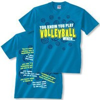 You Know Volleyball T-shirt:Amazon:Sports &amp; Outdoors