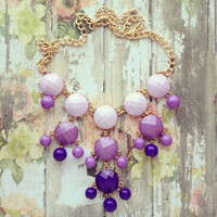 Pree Brulee - Shades of Lavender Necklace