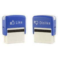 Like and Dislike Stamps (Set)