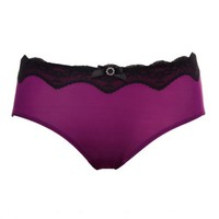 Mid Waist Chinlon Panty,Cheap in Wendybox.com
