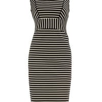 Stripe ponte pencil dress - View All - Dresses - Dorothy Perkins