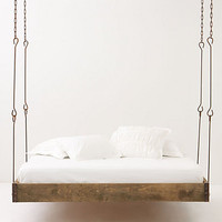 Barnwood Hanging Bed