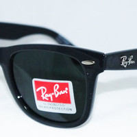 Ray Ban RB2140 Wayfarer Sunglasses Black Rayban