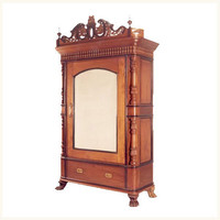 Kingsley Royal Armoire,Anglo ,Indian ,Burma ,Teak ,Armoire ,Antique