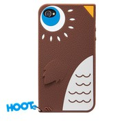Hoot iPhone 4/4S Silicone Creature Case at Brookstone—Buy Now!