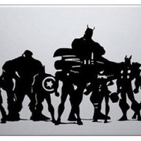 Avengers Macbook Air or Pro Decal Laptop Skin