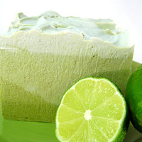Facial Soap Bar Keylime & Tea Tree 5 oz 100 by BlueOrchidBody