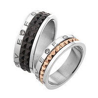 Valentines Gift Pair of Engagement Ring Set for Couples - GULLEITRUSTMART.COM