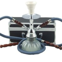 Double Hose Pumpkin Hookah Shisha nargila With a Case