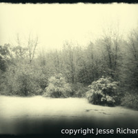 New England Winter Landscape by treeswerestillreal on Etsy