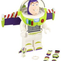 LEGO Kids' 9004346 Toy Story Buzz Lightyear Two-Piece Assortment Clock and Watch