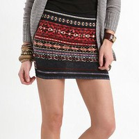 Nollie Fairisle Body Con Skirt - PacSun.com