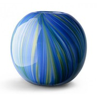 Art Glass Round Vase - Home & Decor