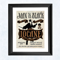 "Princess bride art print - ""Iocane"""