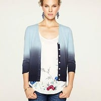 Dallas Dip Dye Cashmere Cardigan - Newly Added - Lucky Brand Jeans