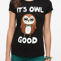Gemma Correll Its Owl Good Tee