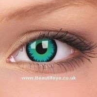 Crazy Blue Contact Lenses, Complete Range