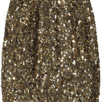 Vince | Sequined georgette mini skirt | NET-A-PORTER.COM