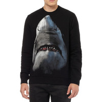 Givenchy Shark-Print Cotton Sweatshirt | MR PORTER