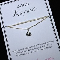 Good Karma Buddha Wish Necklace - Buy 3 Items Get 1 FREE