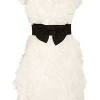 Notte by Marchesa Ruffled organza and tulle dress - 50% Off Now at THE OUTNET