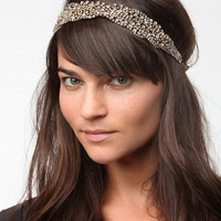 Urban Outfitters - Twisted Rhinestone Headwrap