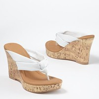 Thong wedge sandal from VENUS