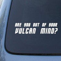 Out of Vulcan Mind - Star Trek Spock - Car, Truck, Notebook, Vinyl Decal Sticker #2209 | Vinyl Colo