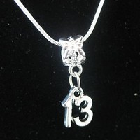 Z15 Wear for Age 13 or Graduation for 2013 925 Sterling Silver Necklace Birth