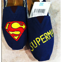 Superman Custom Toms Shoes
