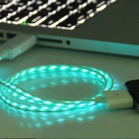 LED iphone 4s usb cable,iphone 4 usb cable,iphone cable