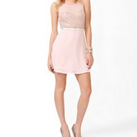 Sequined Mesh Skater Dress | FOREVER 21 - 2025101552