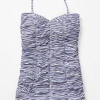 Tidal Stripes Maillot - Anthropologie.com