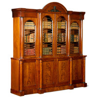 Regency Breakfront Bookcase at 1stdibs